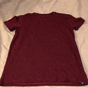 American Eagle short sleeve striped tshirt